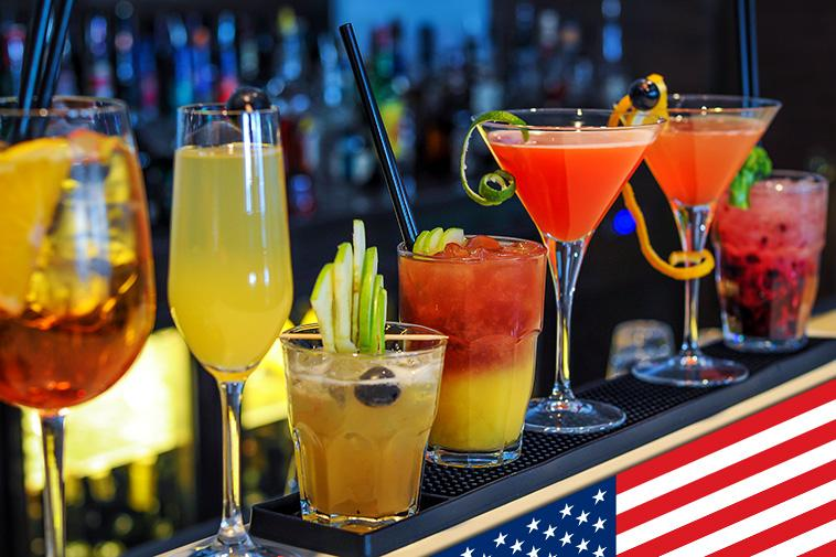 Most Popular Alcoholic Drinks in the USA
